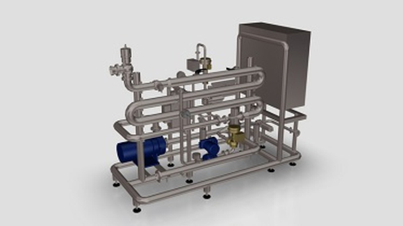 Dosing and blending system