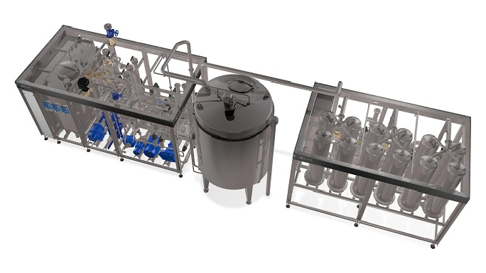 Innopro ECOSTAB C beer stabilizing system